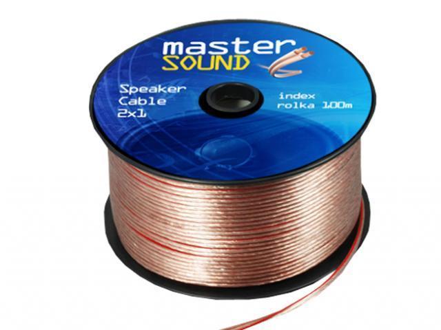 LED21 Kabel dvoulinka 1m2 pro napojení LED pásků, Zlato-červená